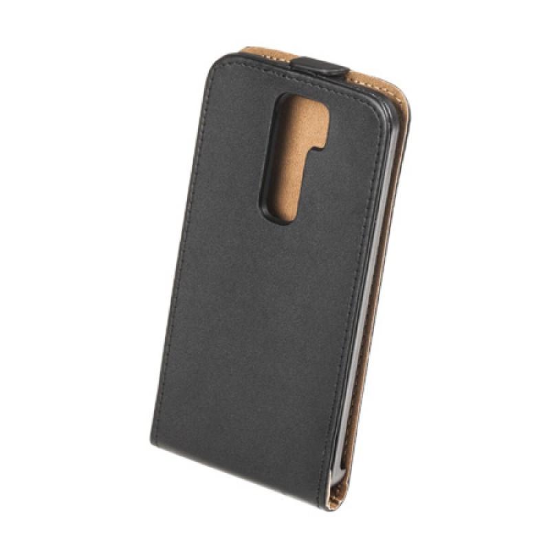 Husa Flip telefon LG G2, Negru