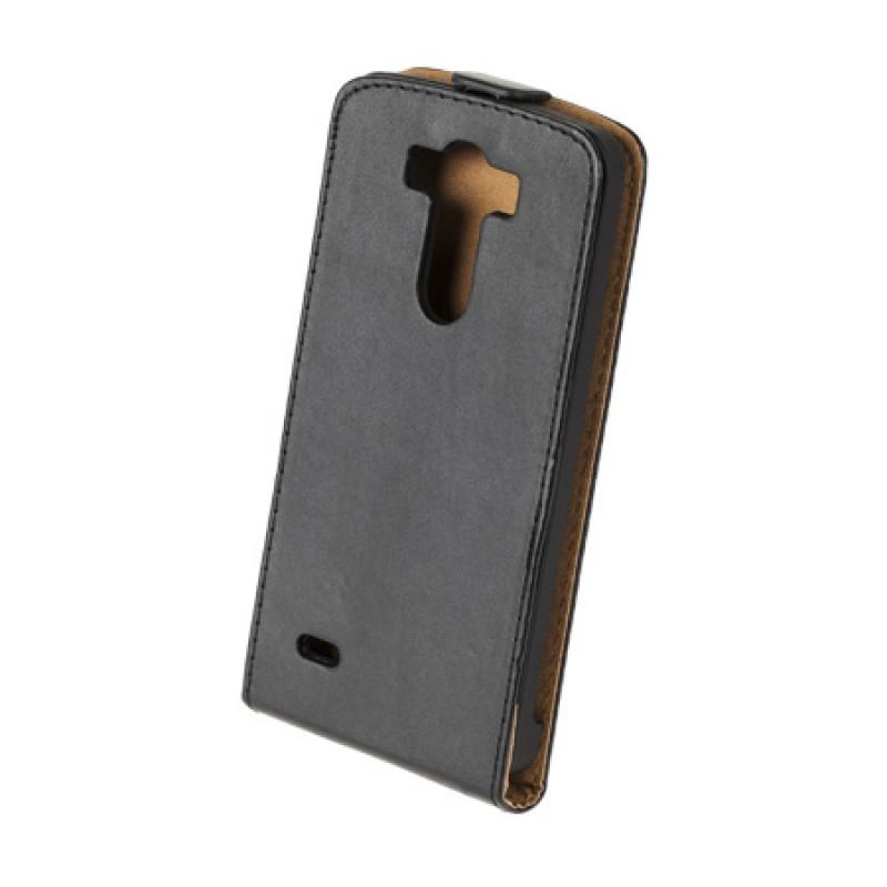 Husa Flip telefon LG G3, Negru 2021 shopu.ro