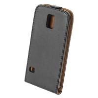 Husa Flip telefon Samsung Galaxy S5, Negru