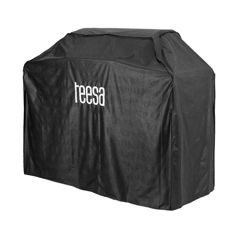 Husa pentru grill Teesa cu 5 arzatoare TSA0082/TSA0096, Negru shopu.ro