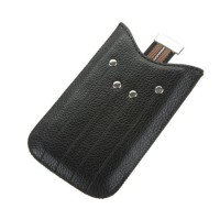 Husa telefon iPhone 4, protectie contra zgarieturilor si impotriva deteriorarii, Negru
