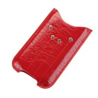 Husa telefon iPhone 4, protectie contra zgarieturilor si impotriva deteriorarii, Rosu