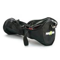 Husa pentru hoverboard Freewheel, 6.5 inch, tip geanta, rotile incorporate, Negru