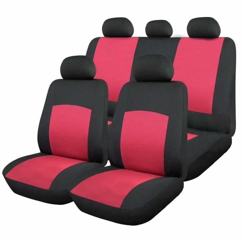 Huse scaune auto RoGroup Oxford, 9 piese, rosu 2021 shopu.ro