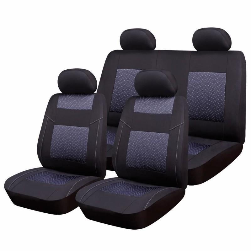 Huse scaune auto RoGroup Premium Line, 9 piese, universal 2021 shopu.ro