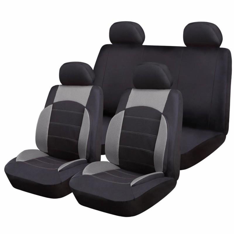 Huse scaune auto RoGroup SportLine, 9 piese, universal 2021 shopu.ro