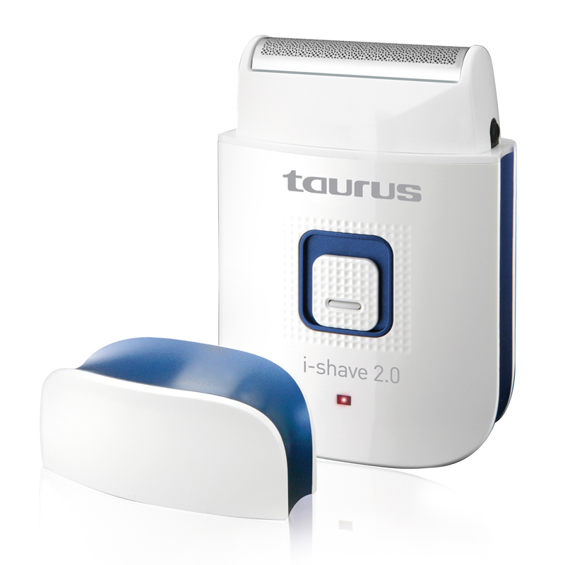 Aparat de ras I-Shave 2.0 Taurus, 5 W, USB, reincarcabil, LED, Alb 2021 shopu.ro