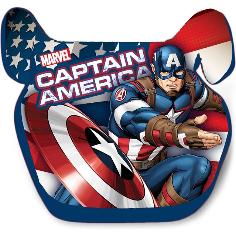 Inaltator Auto Avengers Captain America Seven, 15 - 36 kg, prindere in 3 puncte 2021 shopu.ro