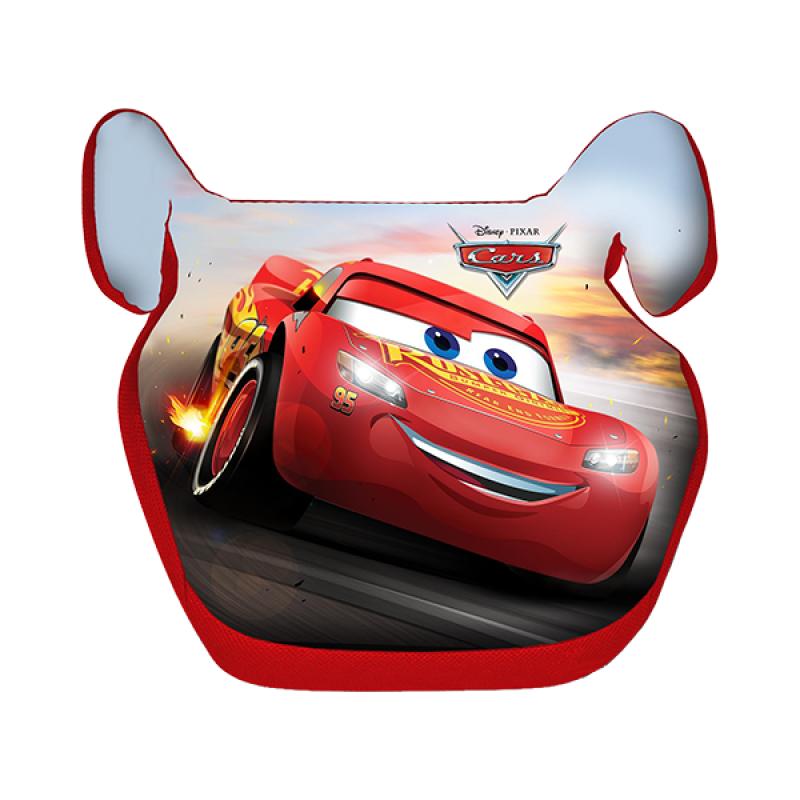Inaltator Auto Cars Disney, husa detasabila, 15 - 36 kg, Rosu