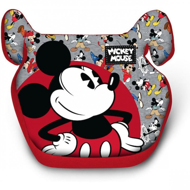 Inaltator Auto Mickey Mouse Disney, husa detasabila, 15 - 36 kg, Multicolor 2021 shopu.ro