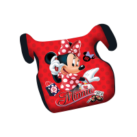 Inaltator Auto Minnie Disney, husa detasabila, 15 - 36 kg, Rosu