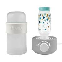 Incalzitor biberoane si sterilizator Baby Milk Second, 2 functii, Alb