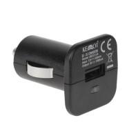 Incarcator Auto Kemot, slot USB, 1 A, negru