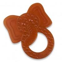 Inel pentru dentitie Grunspecht din cauciuc natural BIO, model Elefant