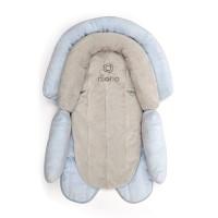 Insert nou-nascut 2 in 1 Cuddle Soft Diono, 52 x 39 x 9 cm, maxim 6.8 kg, 0 luni+, Albastru
