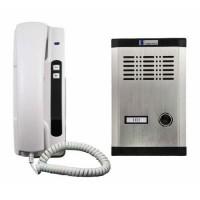 Interfon Cabletech, LF-01+ TF01, verificare acces, Alb/Gri
