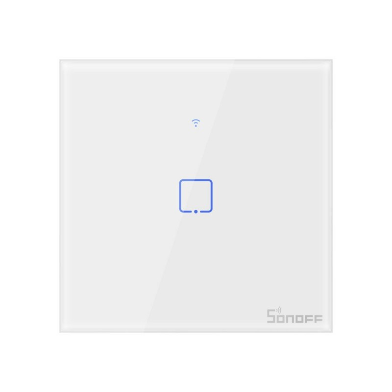 Intrerupator triplu Smart Touch Sonoff T0 EU TX , WiFi, 2 canale shopu.ro