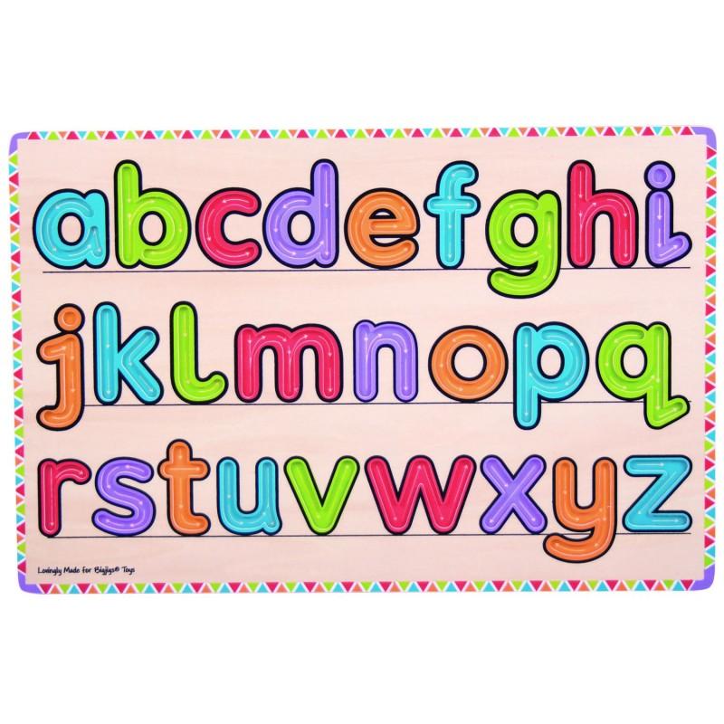 Joc educativ Invatam sa scriem literele, 3 - 7 ani 2021 shopu.ro