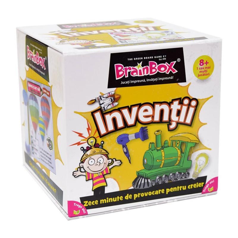 Joc de familie Inventii BrainBox, maxim 6 jucatori, 3 ani+
