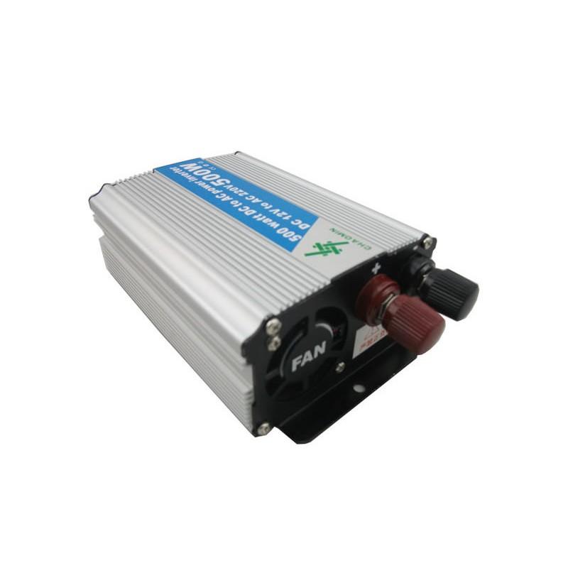 Invertor tensiune 12V-220V, putere 500 W