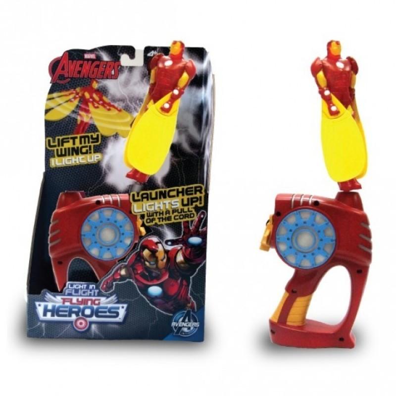 Lansator super-eroi Ironman zburator, 43 x 33 x 19 cm, 4 ani+ 2021 shopu.ro