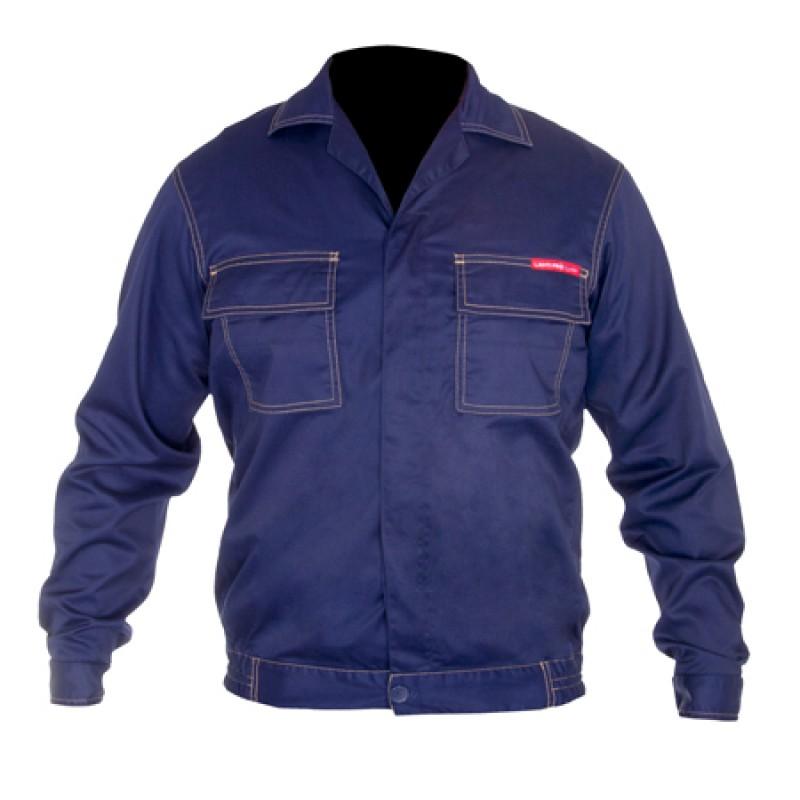 Jacheta lucru subtire, talie ajustabila, cusaturi duble, orificii de ventilatie, marime 3XL/194 2021 shopu.ro