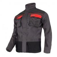Jacheta lucru subtire, 7 buzunare, orificii ventilatie, fermoar rapid, marime XL/56