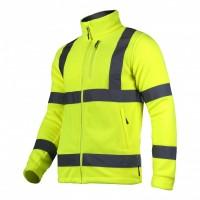 Jacheta reflectorizanta Polar, 3 buzunare, grad ridicat de vizibilitate, marime XL, Verde