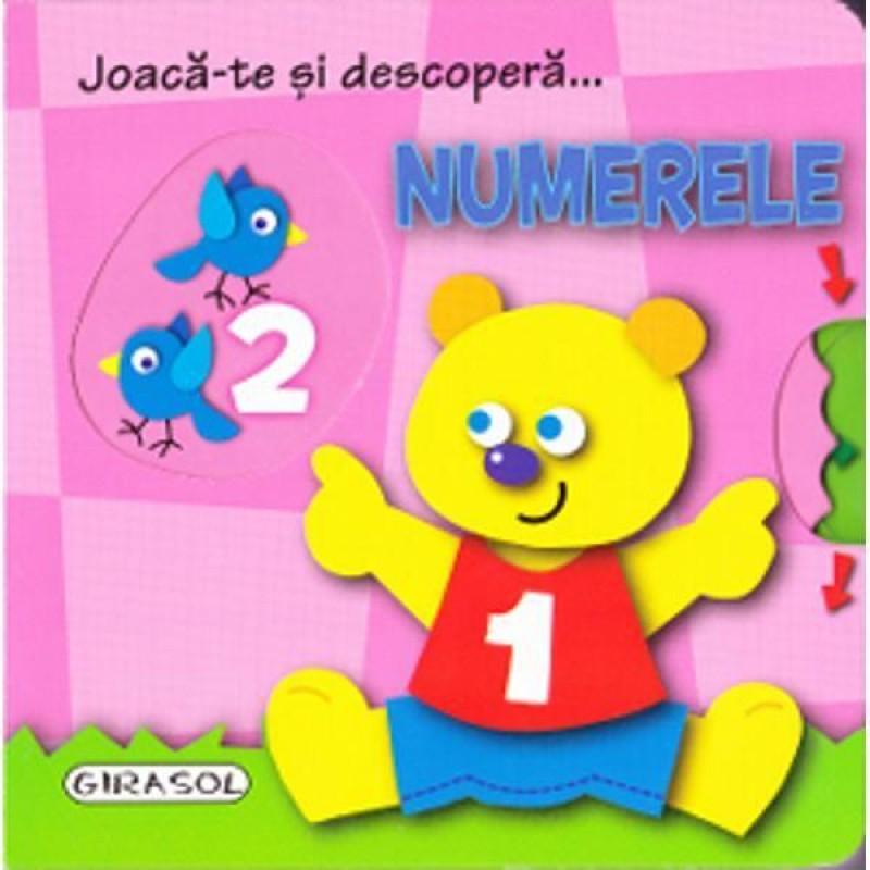 Carte pentru copii Numerele Girasol, 4 - 6 ani 2021 shopu.ro