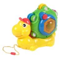 Jucarie interactiva cu sunete si lumini, model melc