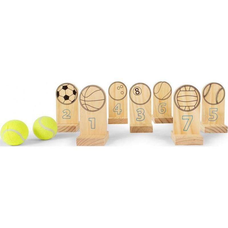 Joc Arunca mingea Buitenspeel, 2 mingi incluse 2021 shopu.ro