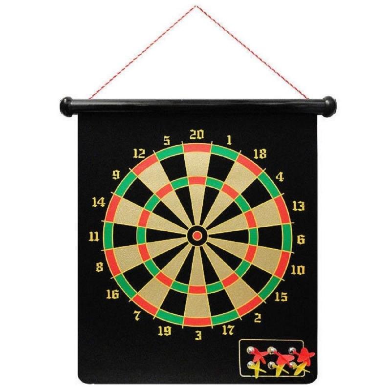 Joc Darts magnetic, 6 sageti, plansa de joc, 50 cm, 3 ani+ 2021 shopu.ro