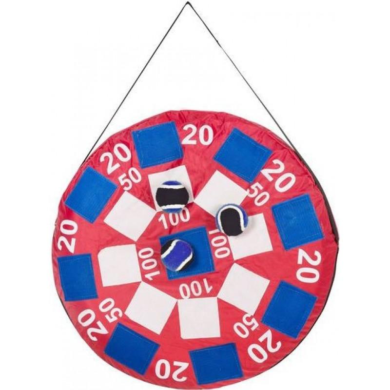 Joc Darts Velcro Buitenspeel, tinta gonflabila, 3 mingi 2021 shopu.ro