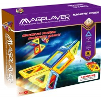 Puzzle magnetic Magplayer, 20 piese, 3 ani+