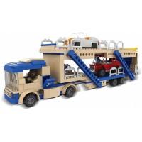 Joc de constructie My City Transportor auto, 424 piese, 6 ani+