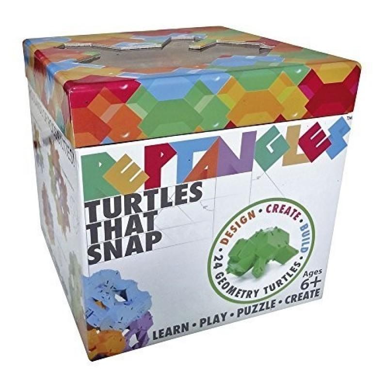 Joc de constructie Testoasele Fat Brain Toys, 24 piese 2021 shopu.ro