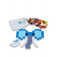 Joc de creatie Pixel Art Buitenspeel, 150 piese, 4 ani+