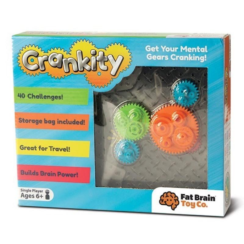 Joc de inteligenta Crankity Fat Brain Toys, 6 ani+ 2021 shopu.ro