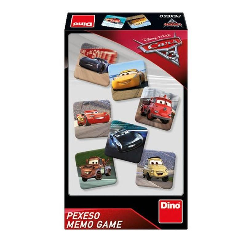 Joc de memorie Dino Toys Cars 3, 48 de carduri 2021 shopu.ro