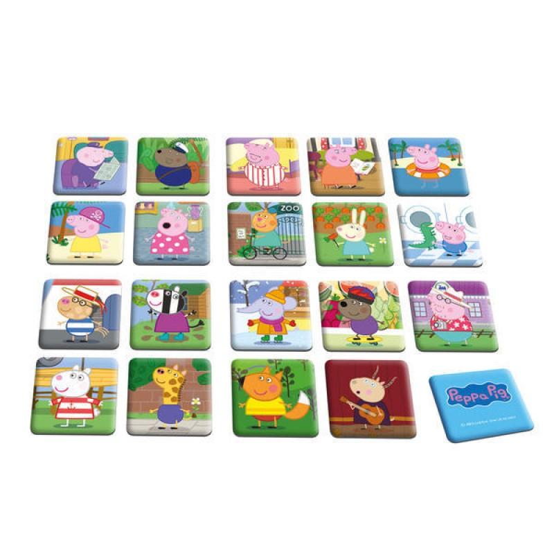 Joc de memorie Purcelusa Peppa Dino, 38 carduri, 2-6 jucatori, durata 20 minute, 4 ani+ 2021 shopu.ro