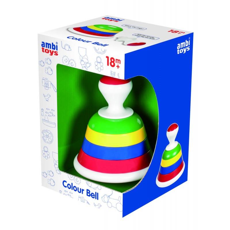 Joc de potrivire Ambi Toys Clopotelul colorat, 18 luni+ 2021 shopu.ro