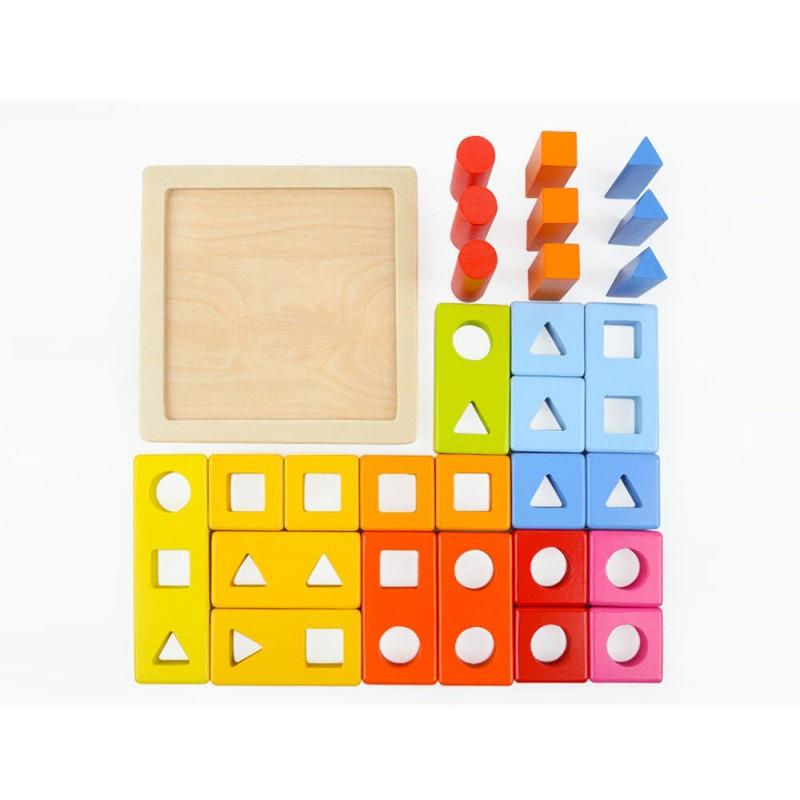 Joc de potrivire Primele mele forme geometrice Topbright, 2 ani+ 2021 shopu.ro