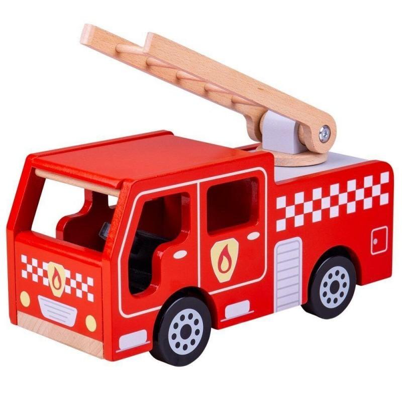 Joc de rol Masinuta de pompieri BigJigs, 3 ani+ 2021 shopu.ro