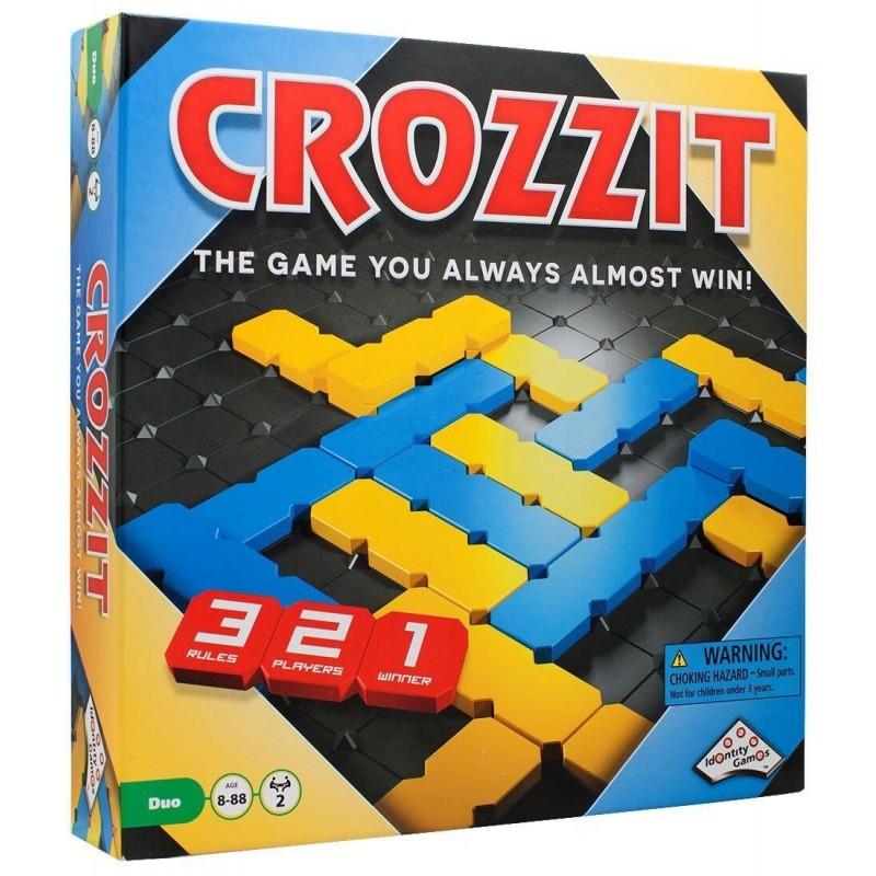 Joc de strategie Identity Game Crozzit, 2 jucatori, timp de joc 20 de minute 2021 shopu.ro