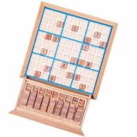 Joc din lemn Sudoku Bigligs, 2-4 jucatori, 5 ani+