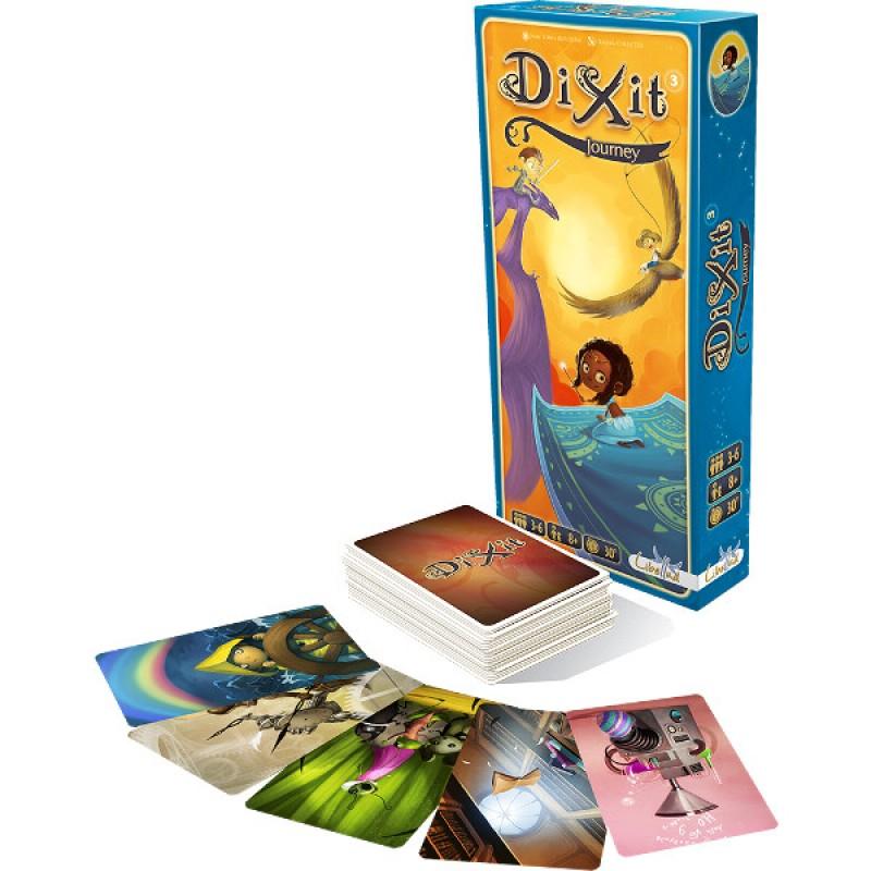 Joc de societate Dixit Journey, 3-6 jucatori, 8 ani+ 2021 shopu.ro