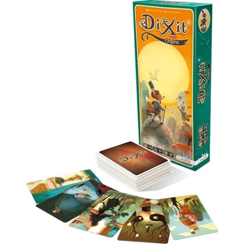 Joc de societate Dixit Origins, 3-6 jucatori, 8 ani+ 2021 shopu.ro