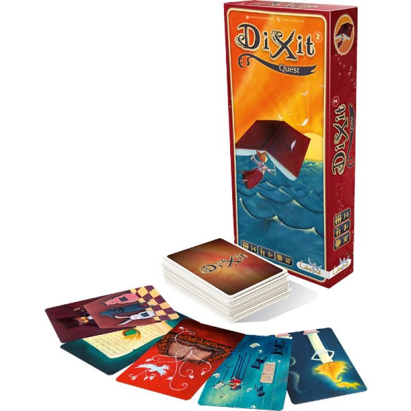 Joc de societate Dixit Quest, 3-6 jucatori, 8 ani+ 2021 shopu.ro