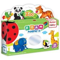 Joc educativ Lumea in Magneti Roter Kafer, 29 piese, 1 an+, Gradina Zoologica