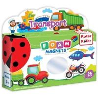 Joc educativ Lumea in Magneti Roter Kafer, 36 piese, 1 an+, Mijloace de Transport